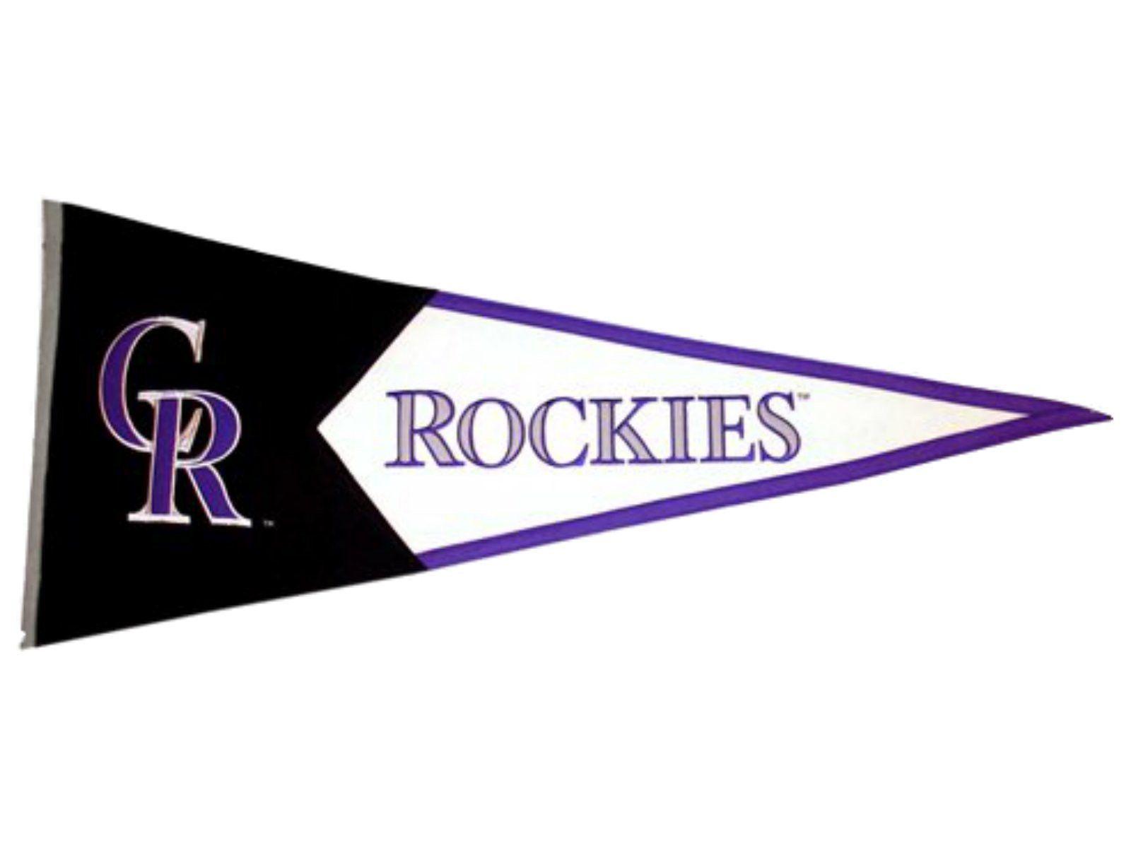 Colorado Rockies Mlb Classic Winning Streak Pennant 17 5 X 40 5 Colorado Rockies Colorado Rockies Baseball Rockies Baseball