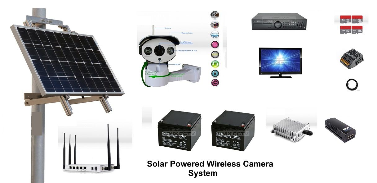 Solar camera system for $4648.00