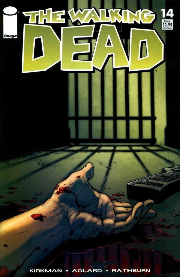 Capa da Edição #14 de The Walking Dead