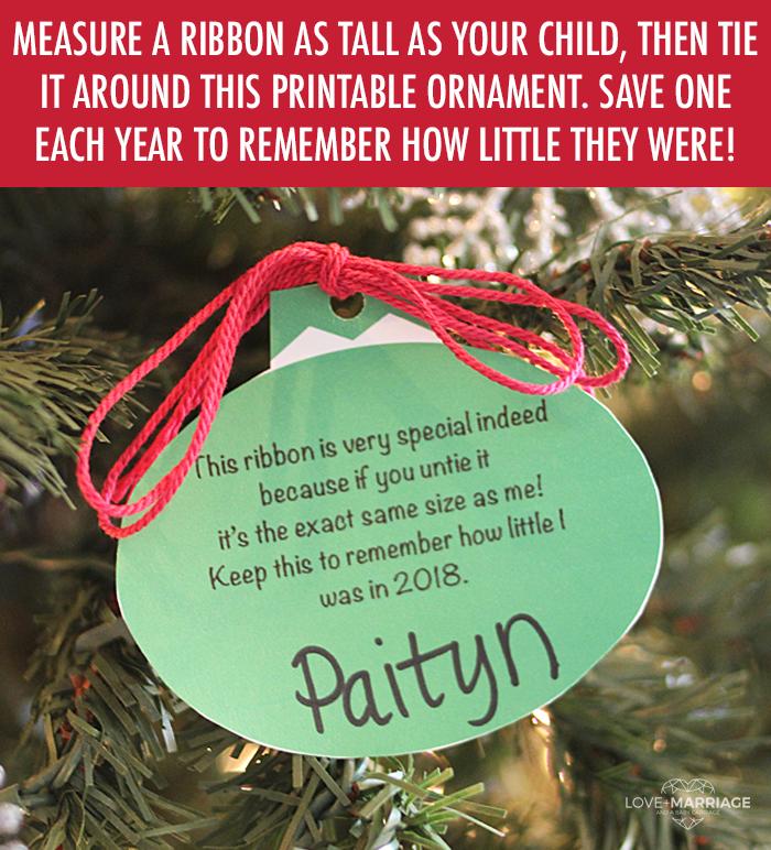 Sweet Memory Christmas Ornament Printable Xmas Ideas Pinterest