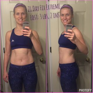 21 Day Fix Extreme Results! I lost 3 lbs and 2 ins during a time when most  people are gaining weight! Come join my next Accountability group and I'll  help ...
