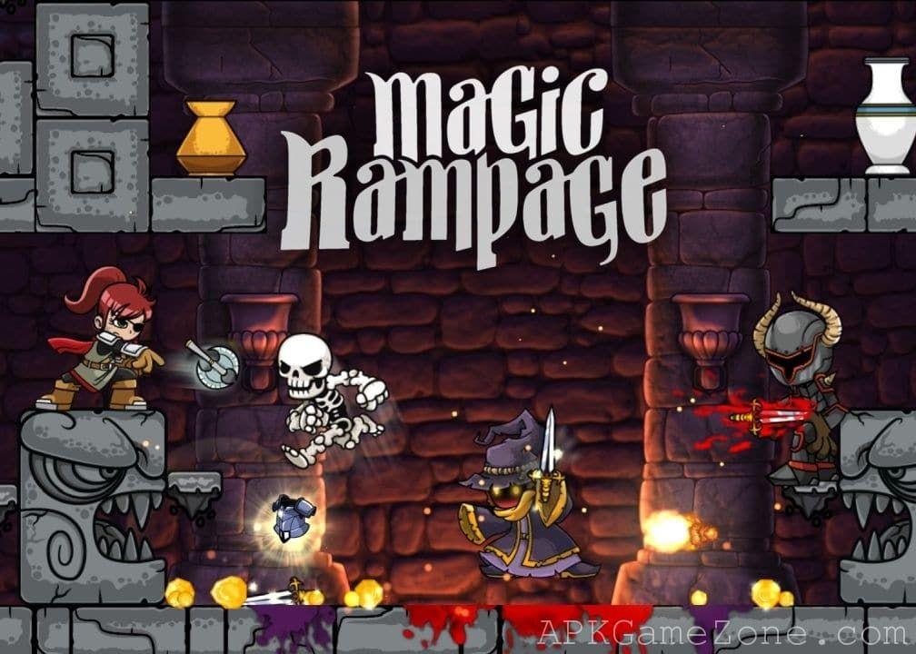 Magic rampage money mod download apk