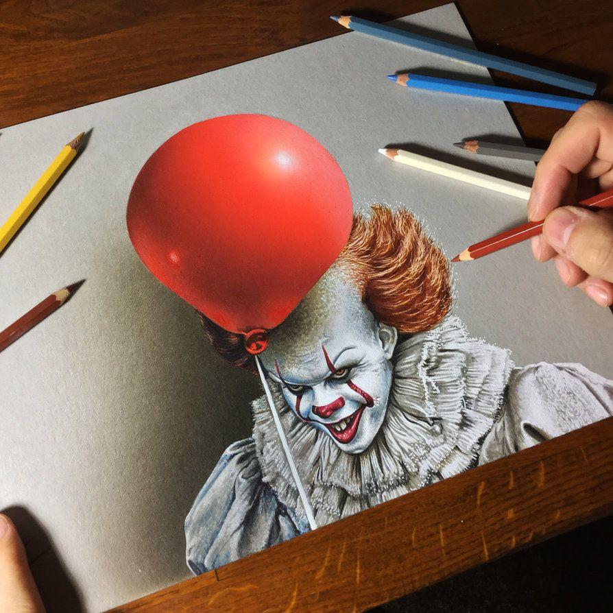 Watch Me Draw It By Marcellobarenghi Deviantart Com On Deviantart Prismacolor Art Color Pencil Art 3d Drawings