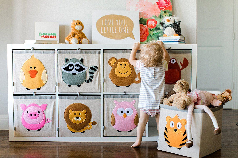 Süsse Spielzeugkisten für das kinderzimmer Stauraum