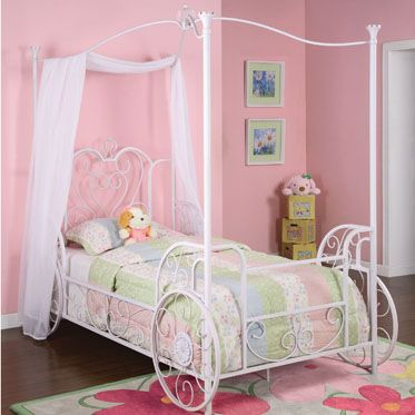 Powell Furniture Princess Twin Canopy Bed Powell Furniture