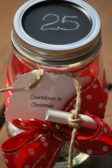 My Story In Recipes Countdown Jars Christmas Jars Christmas Countdown Jar