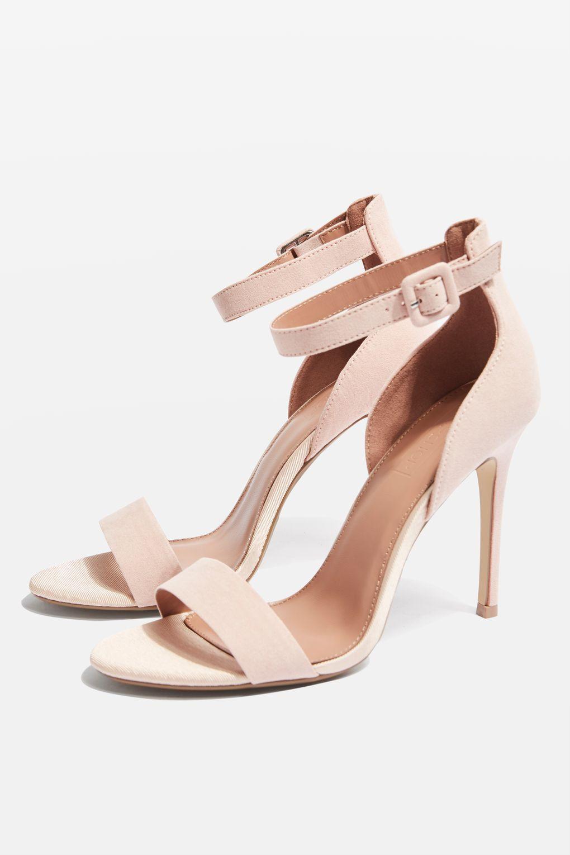 Blush Pink MORGAN Two Part Sandals