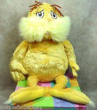The LORAX Movie Plush Dr. Seuss Kohls Cares For Kids Plush Stuffed Toy 2005
