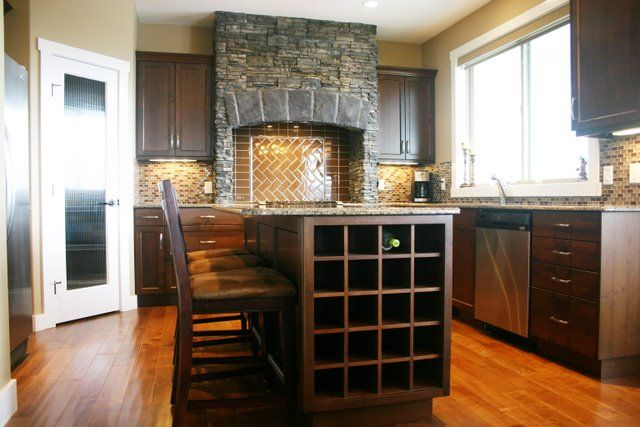 Wine Rack In Island Google Search Small Kitchen Furniture Kitchen Furniture Design Kitchen Design Small