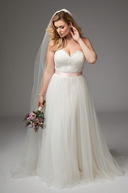 Plus Size Brautkleid | The Dress | Pinterest | Brautkleid ...