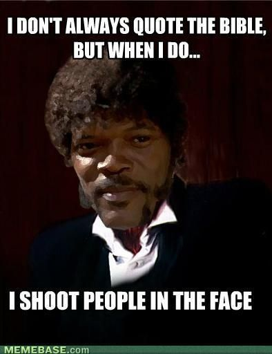 samuel l jackson pulp fiction nuff said the funny