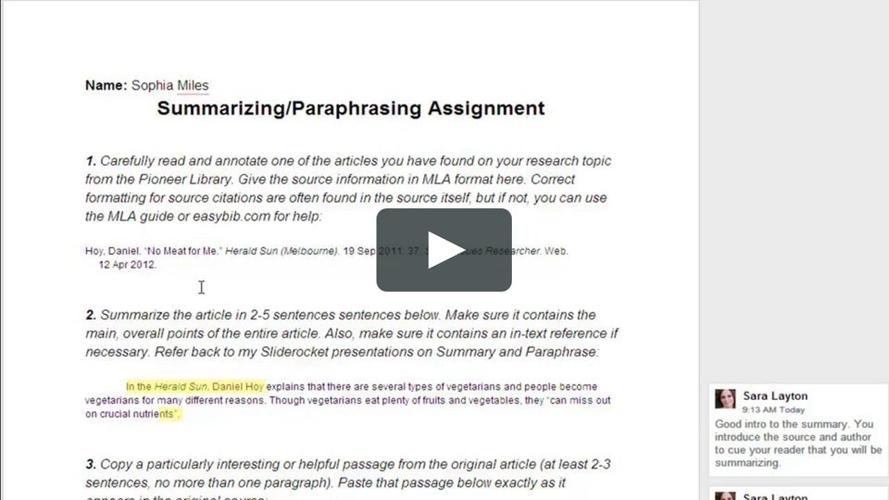 Do You Paraphrase In Your Writing Use A Document Comparison Tool To Avoid Error Citation Format Spelling And Grammar How Cite From Website