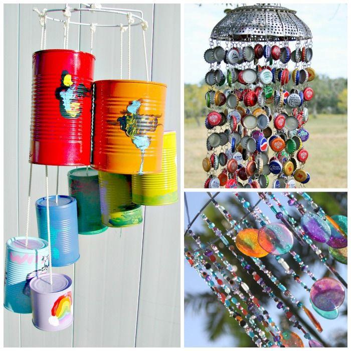 Wind Chime Crafts Wind Chimes Craft Wind Chimes Tin Can Crafts
