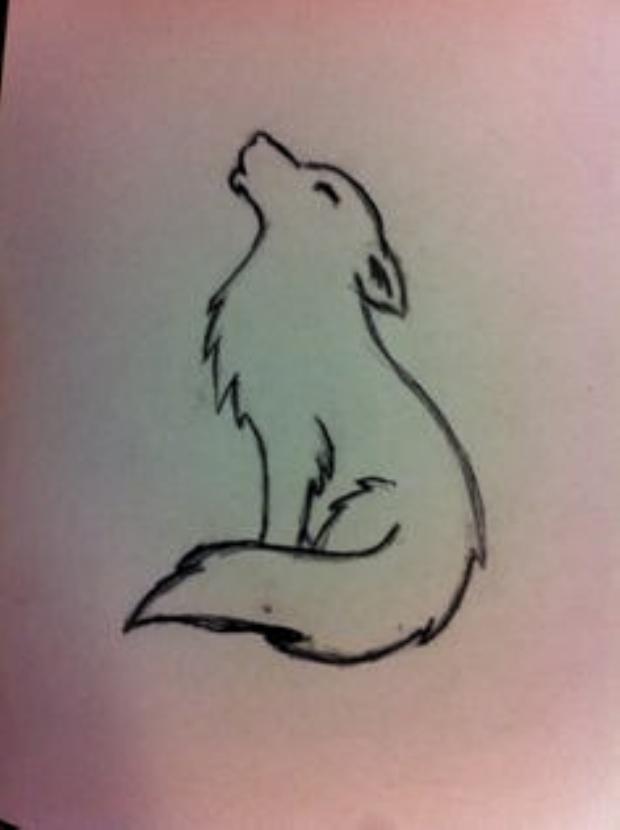 Résultat de recherche dimages pour minimalist wolf tattoo   #de #dimages  #diytattooimages  diy best tattoo images diy tattoo #besttattoo