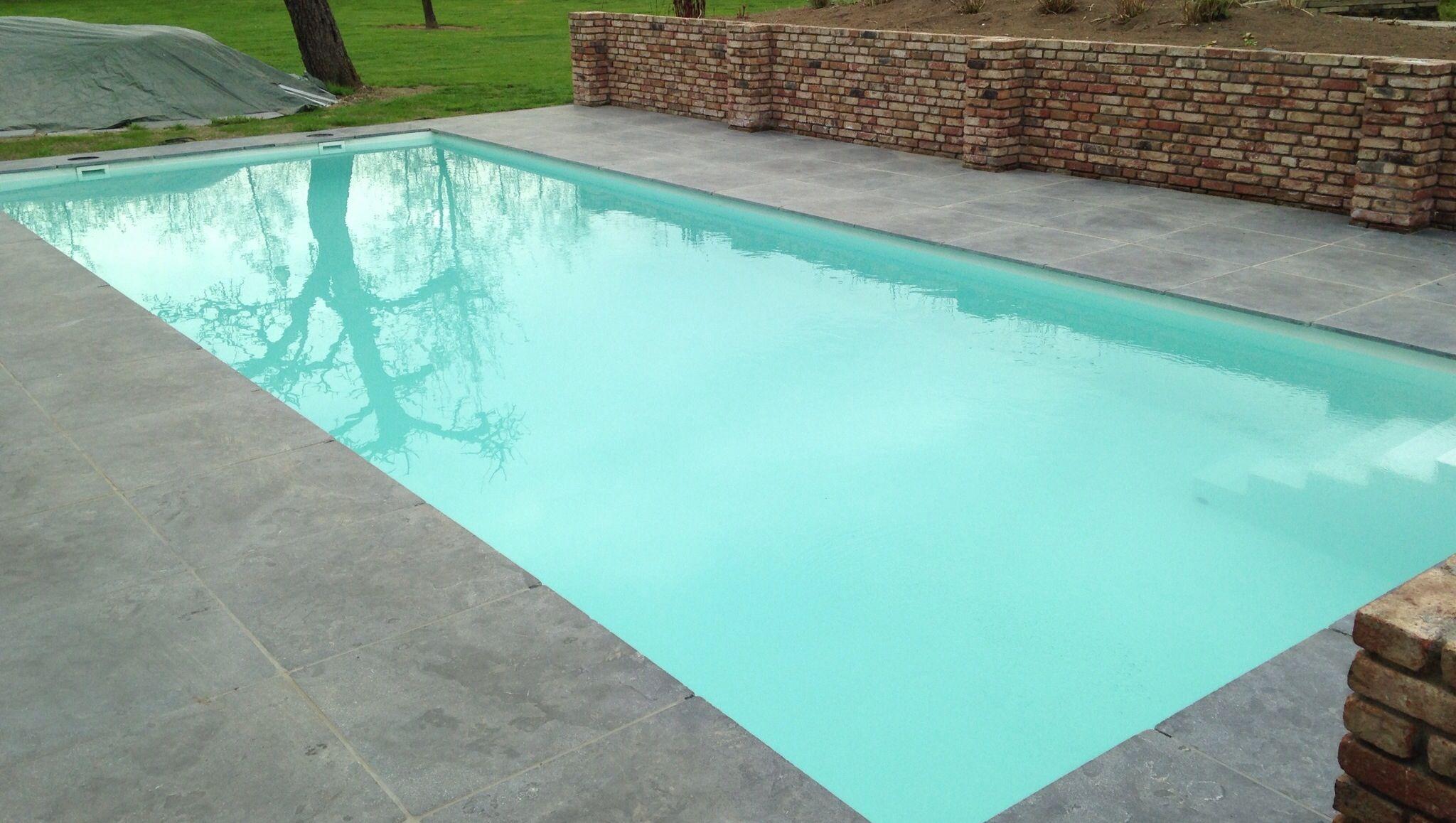 Kunststof zwembad kleur wit 7 5x3 5x1 2 swimmingpool for Zwembad kunststof