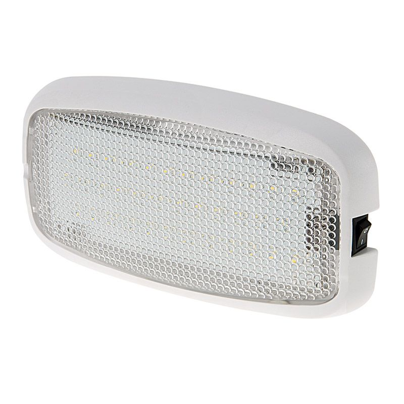 Rectangle Led Dome Light Fixture 6 Led Light W 36 Leds And Built In Switch Pigtail Connector Led Dome L Dome Light Fixture Dome Lighting Light Fixtures