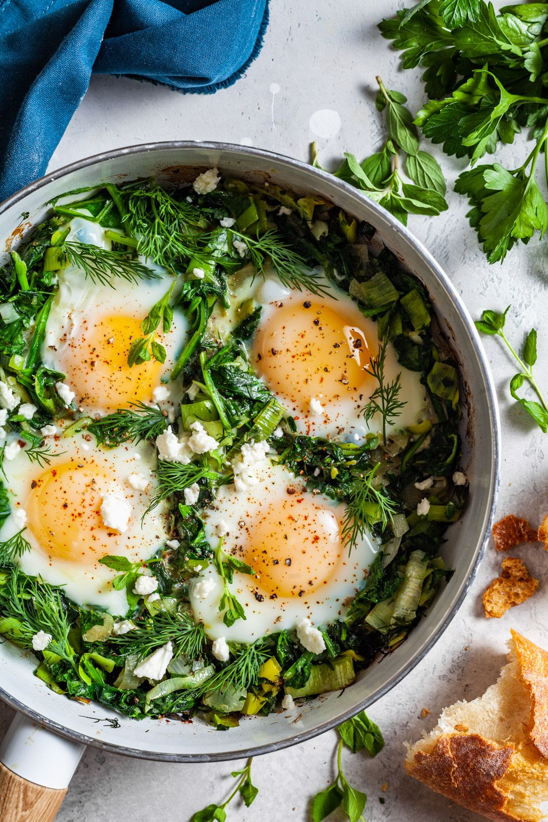 Green Shakshuka Recipe in 2020 Shakshuka recipes, Food