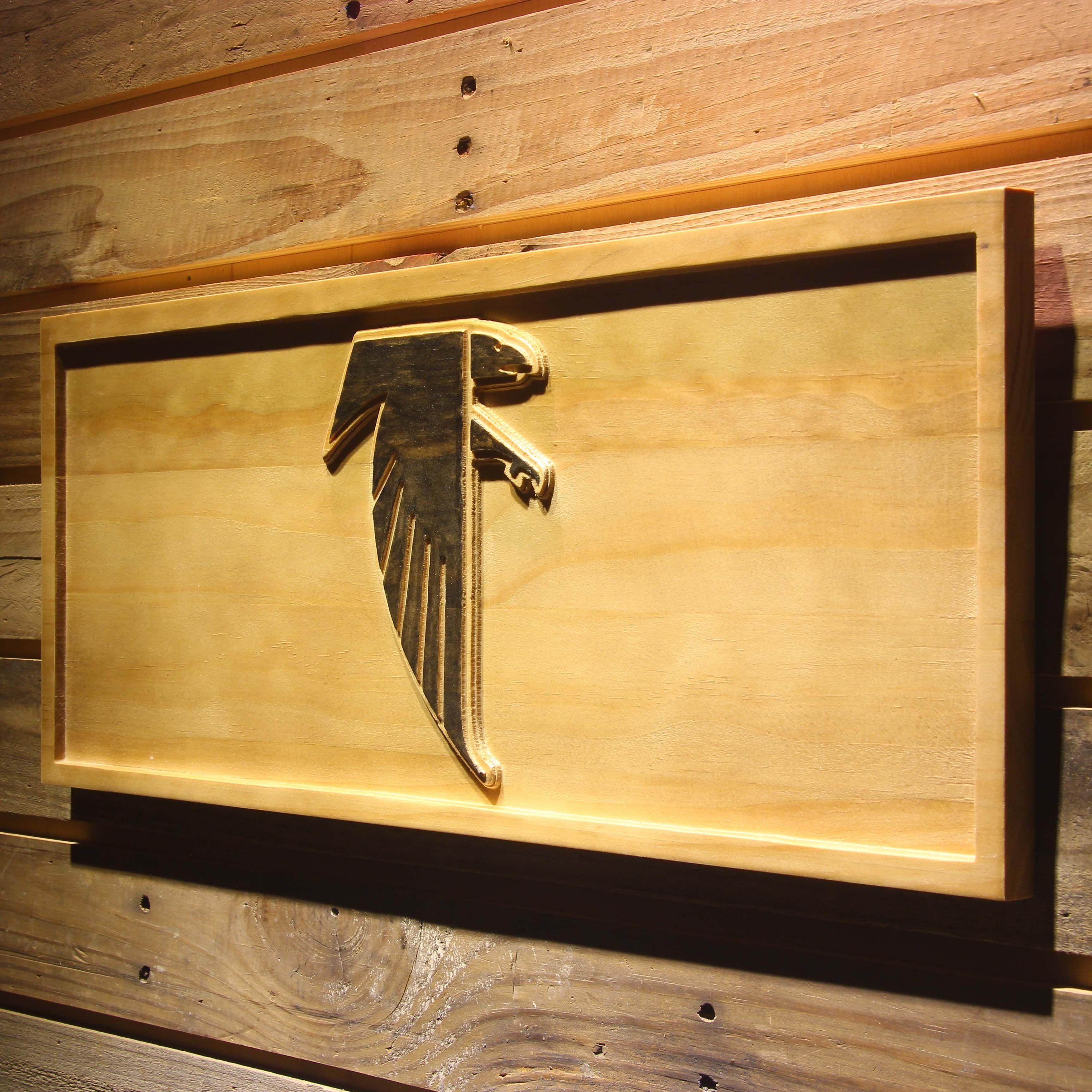 Atlanta Falcons 1990-2002 Wooden Sign - Legacy Edition | Falcons