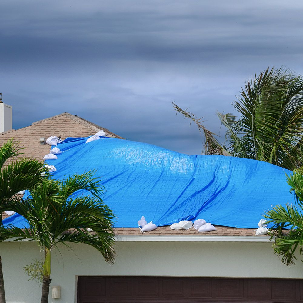 Learn How To Tarp A Roof To Protect Your Home From Extensive Damage After A Big Storm Passes Through This Home Depot In 2020 Diy Home Repair Protecting Your Home Roof