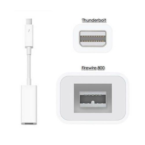 Thunderbolt Port To Firewire Ieee 1394 1394b 800 Adapter Cable Macbook Mini Apple Products Buy Apple