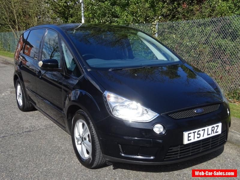 Ford S Max 1 8 Tdci Zetec Turbo Diesel 2008 Full Mot 7 Seats No