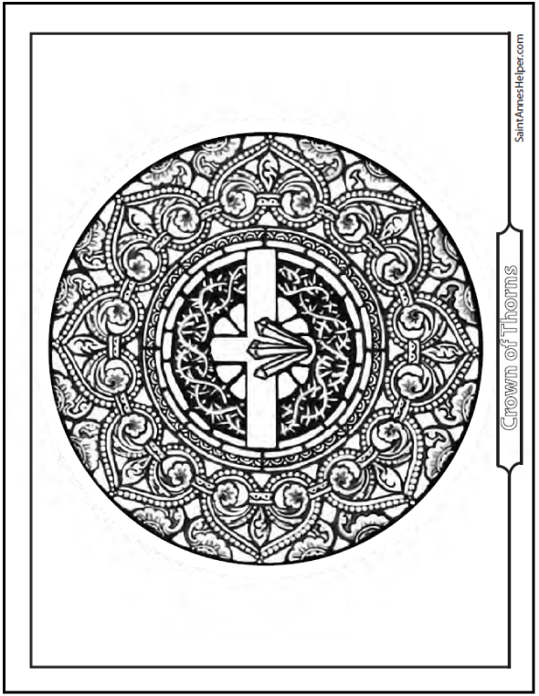 Jesus Crown Of Thorns Coloring Page Lent Coloring Pages Coloring Pages Angel Coloring Pages Crown Of Thorns