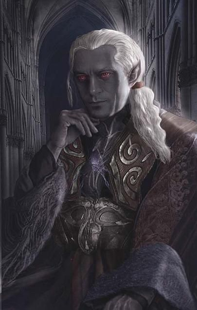 Rpg Rules Elves Fantasy Character Portraits Drow Male