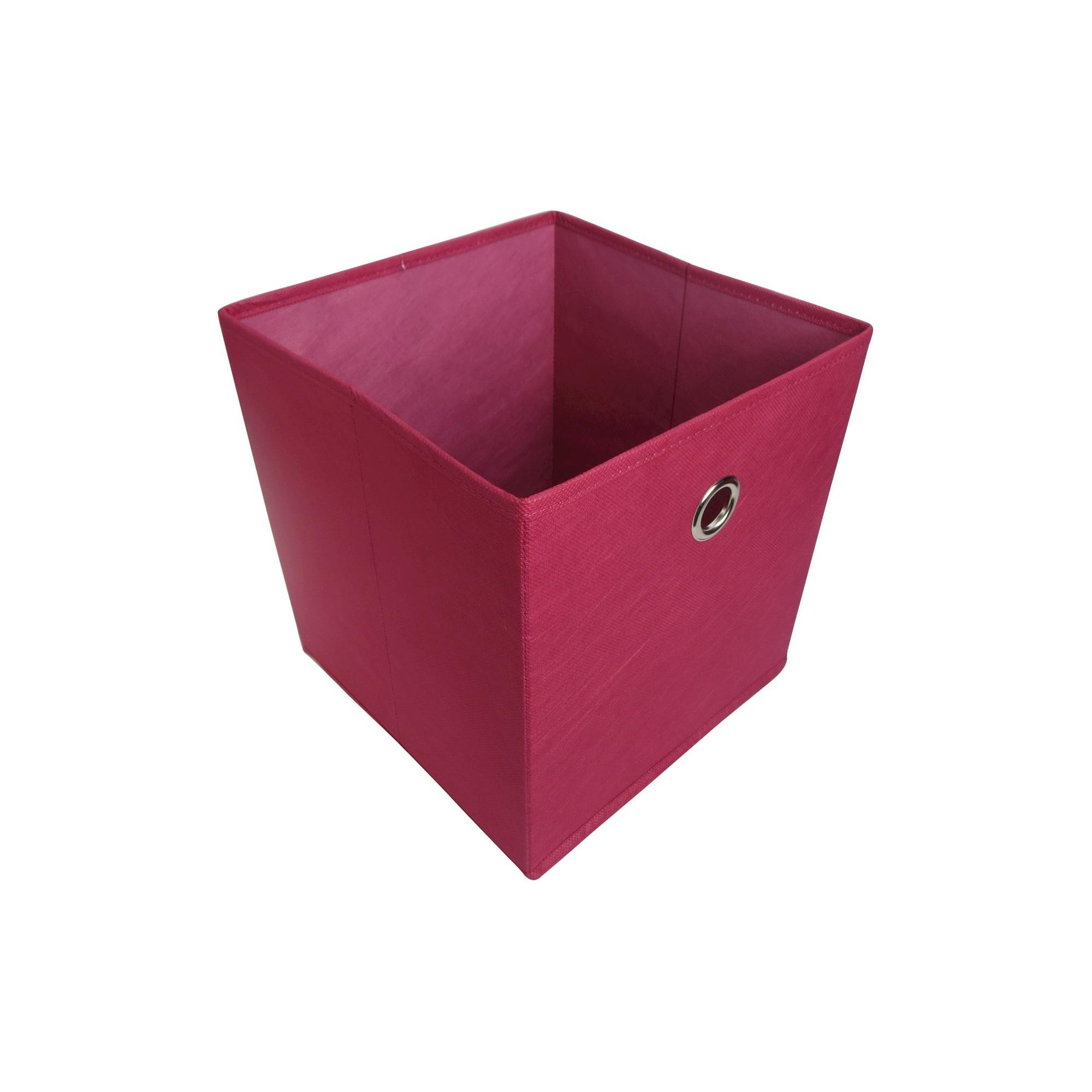11 Fabric Cube Storage Bin Pink Room Essentials Decorative