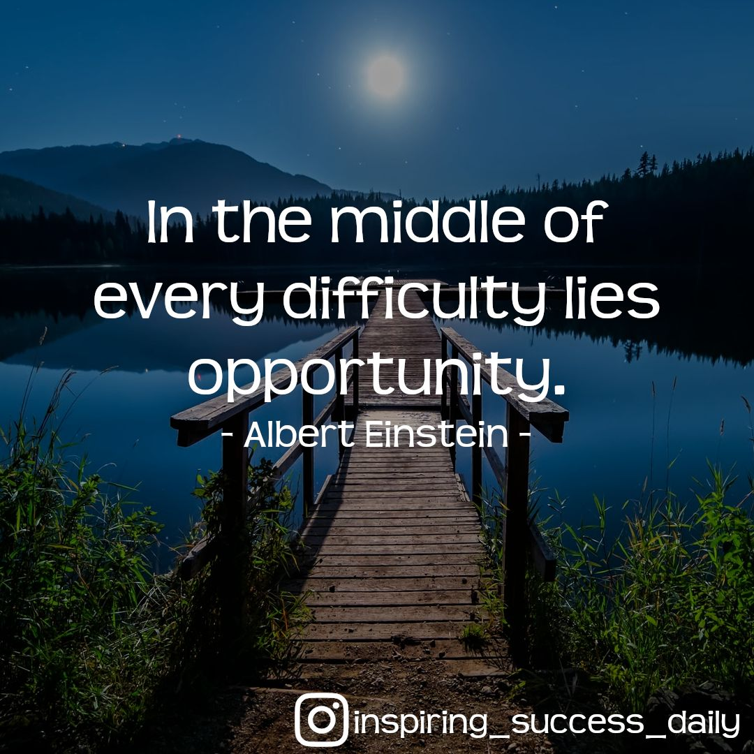We grow by overcoming obstacles - #motivation #quote  Overcoming