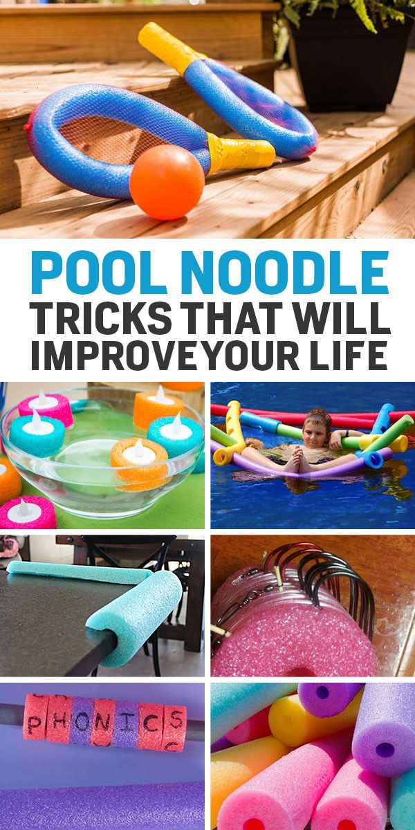 Super Useful Things That You Can Do With A Pool Noodle With