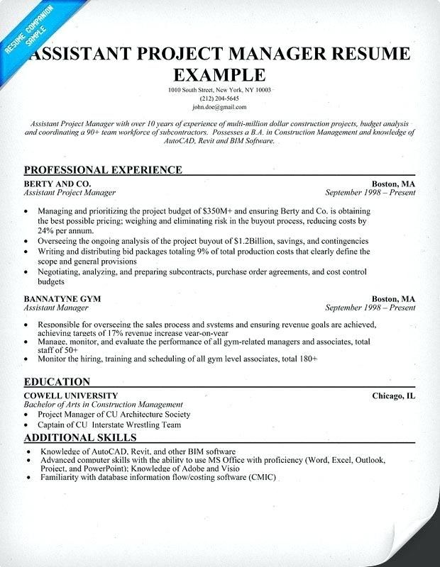 Project Coordinator Sample Resume Lebenslauf Vorlagen Resume Resumeexamples Resumetemplates Cur Project Manager Resume Job Resume Samples Manager Resume