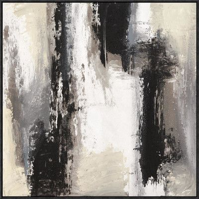 """Global Gallery 'Aperture 1' by Lucas Framed Painting Print on Canvas Size: 30"""" H x 30"""" W x 1.5"""" D"""