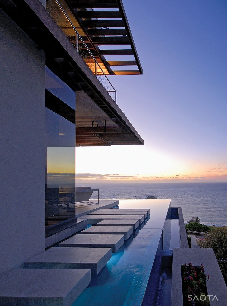 Small Modern Cape Cod House Plan Cathedral Ceiling 1 Car: Personalized Modern Living In Cape Town SAOTA's Kloof 151