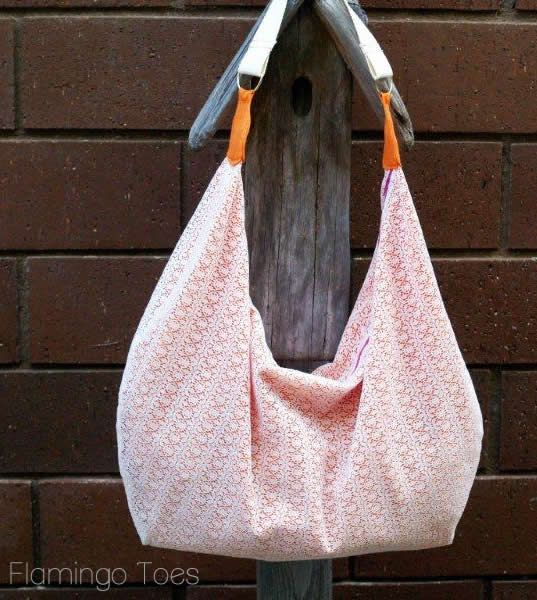 Slouchy Summer Bag Now with Pattern!! » Flamingo Toes | Bags ...