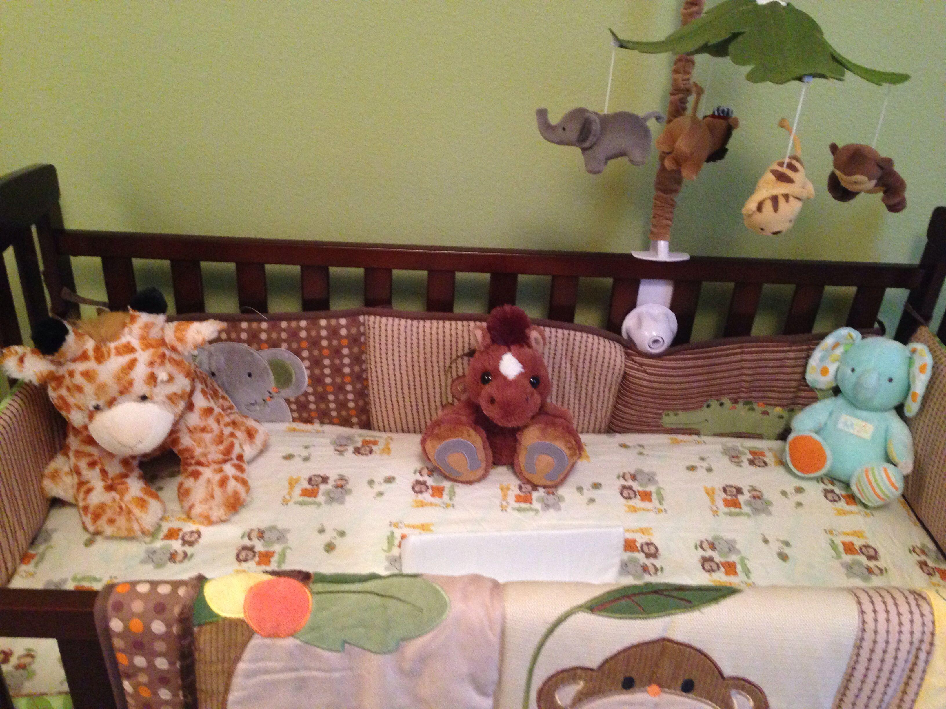 Jungle theme bedding