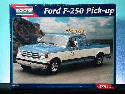 Revell Monogram Ford F  Pickup Truck   Plastic Model Kit