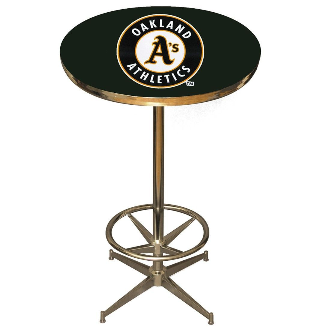 The Oakland Athletics Fan Cave Pub Table by Imperial