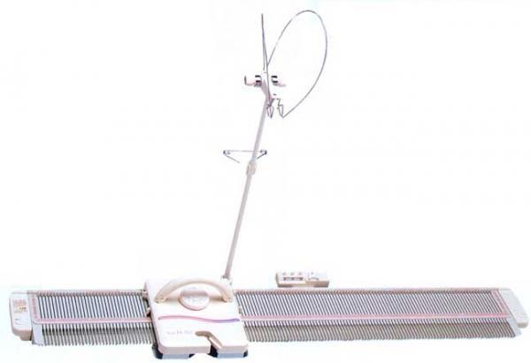 Silver Reed LK150 6.5mm MidGauge 150 Needle Hobby Knitting Machine ...