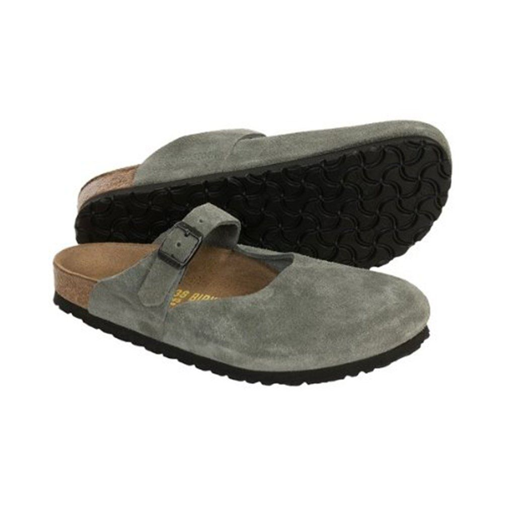 86b17fcbe485 Birkenstock Rosemead Womens Leather Slip On Clogs