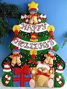 Manualidades navide as en fieltro arbolito de navidad - Arboles de navidad manualidades navidenas ...
