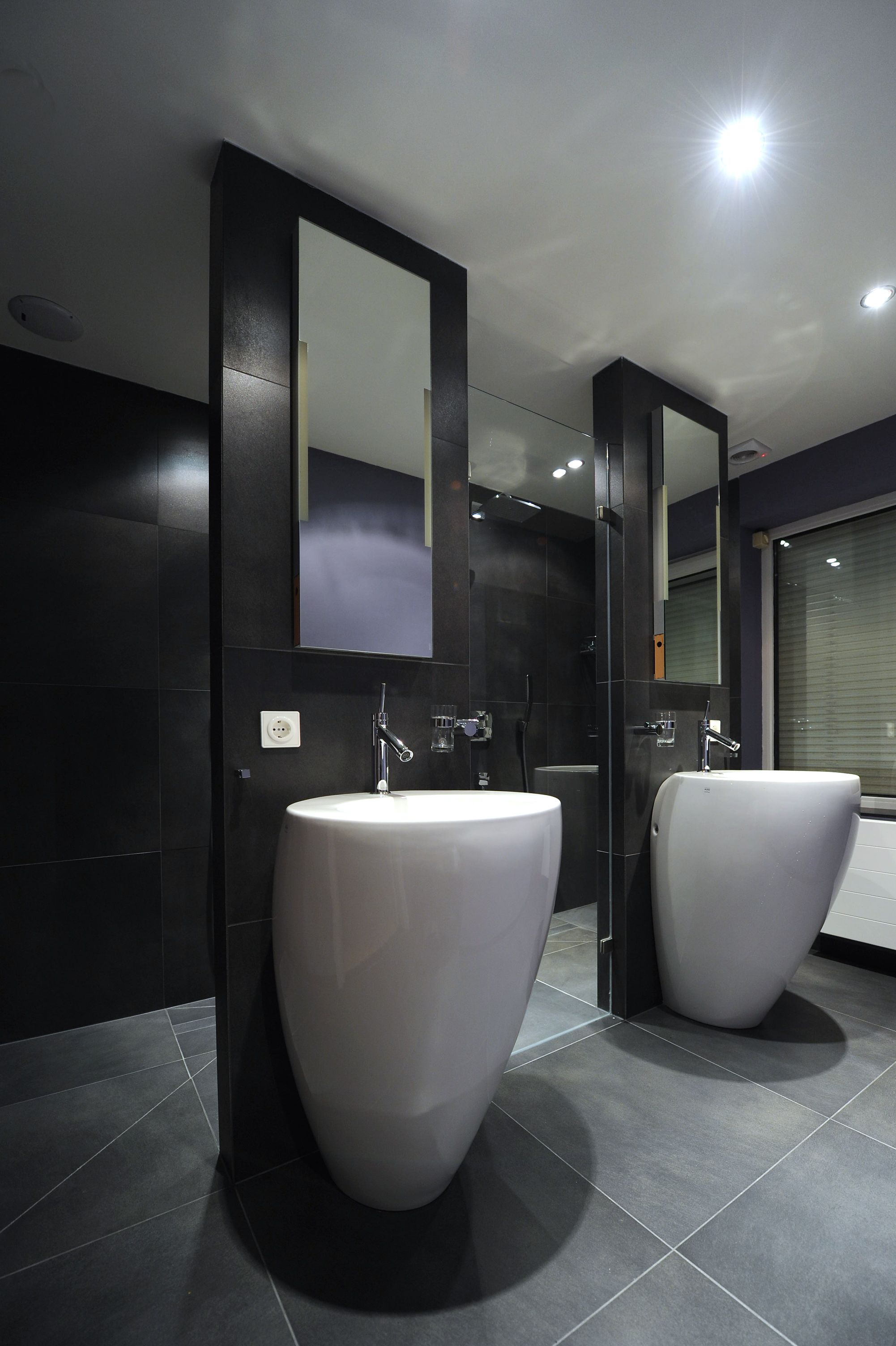 allessi badkamer met dubbele inloopdouche te uden badkamer