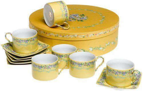 Amazon.com | Yedi Houseware Classic Coffee and Tea French Garden ...