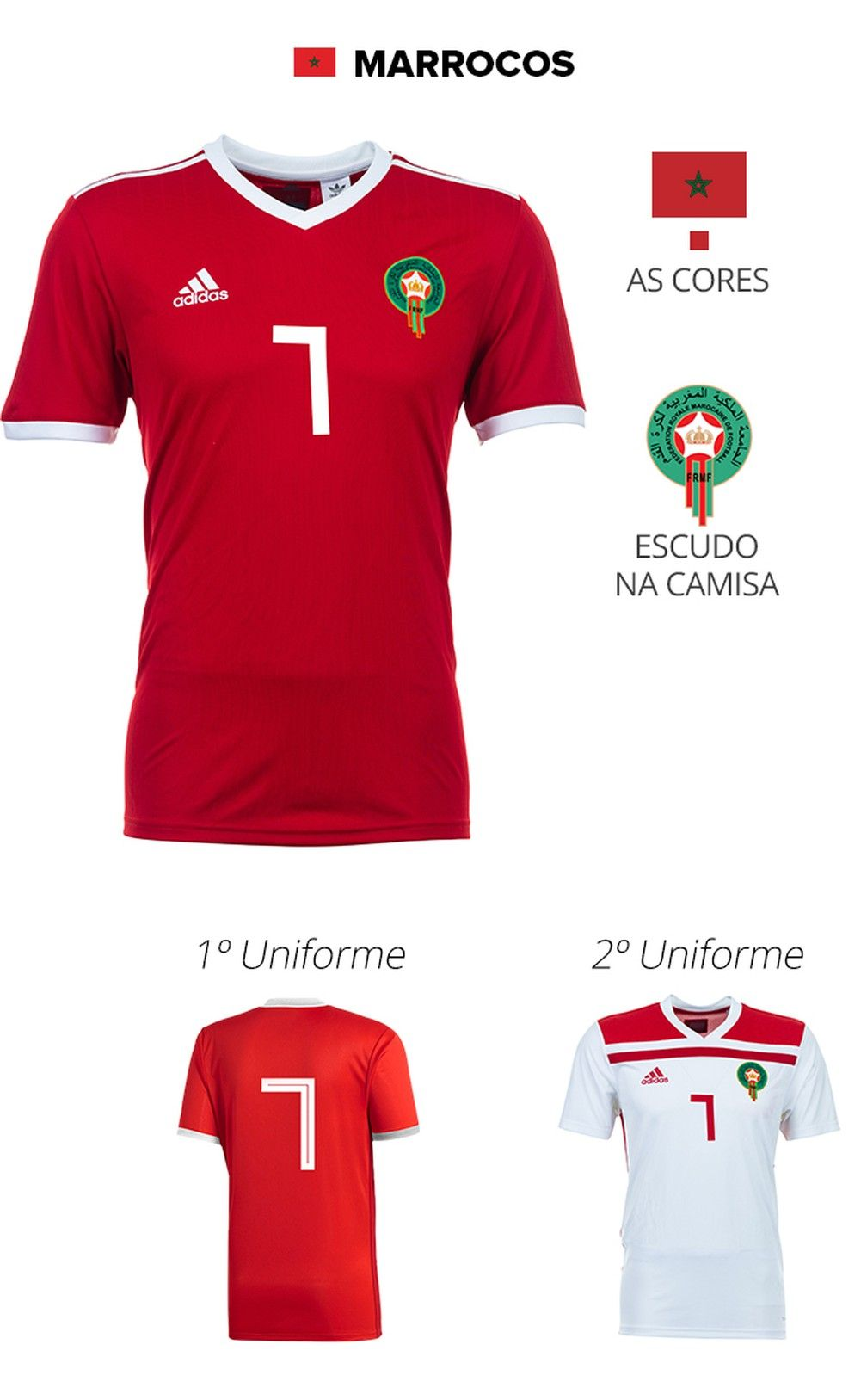 856963b85 As camisas das 32 seleções da Copa