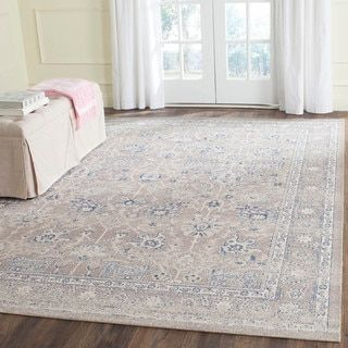 Shop for Safavieh Patina Taupe/ Taupe Cotton Rug (8' x 10'). Get free shipping at Overstock.com - Your Online Home Decor Outlet Store! Get 5% in rewards with Club O!