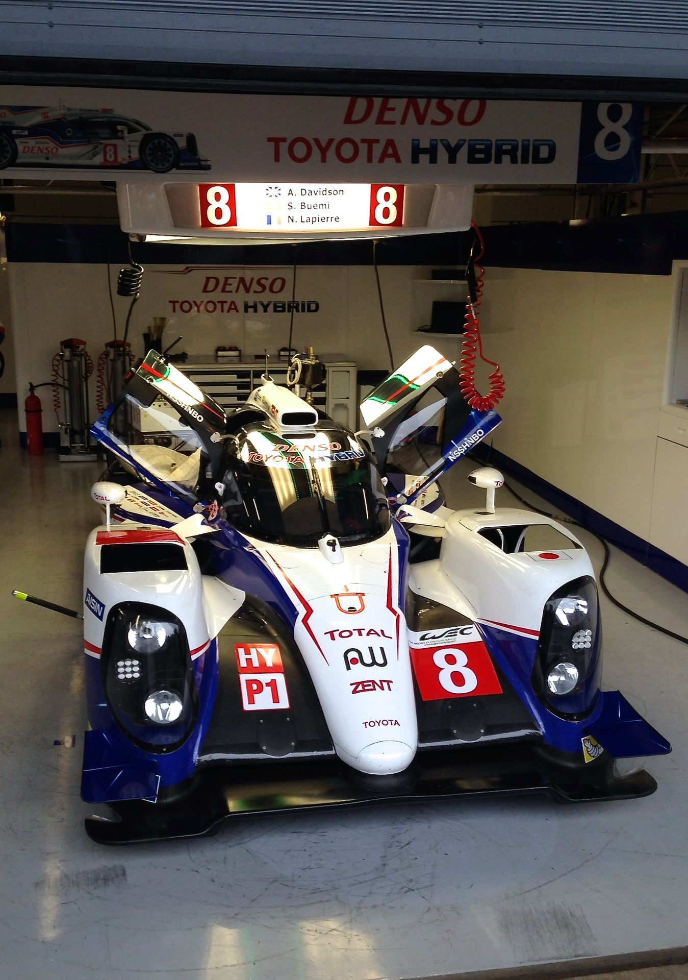 Toyota gazoo racing revealed today the updated ts050 hybrid race car which will carry its hopes in the 2017 fia world endurance championship wec