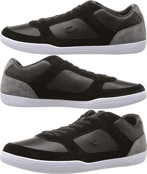 Lacoste Mens Straightset 316 1 Cam Fashion Sneaker