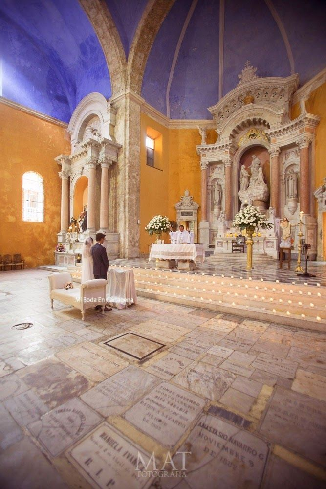 Ceremony Venue Churches Cartagena Colombia Mi Boda En Wedding Planner Organizadora