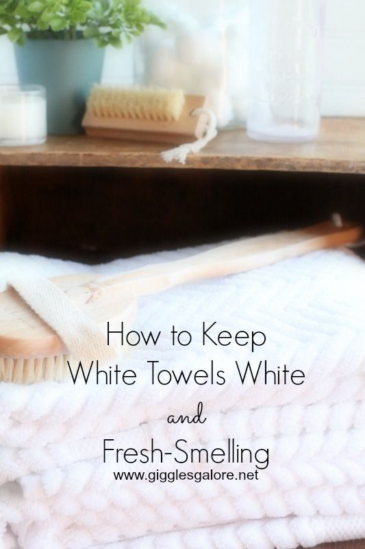 How To Wash White Towels To Keep Them White And Fresh