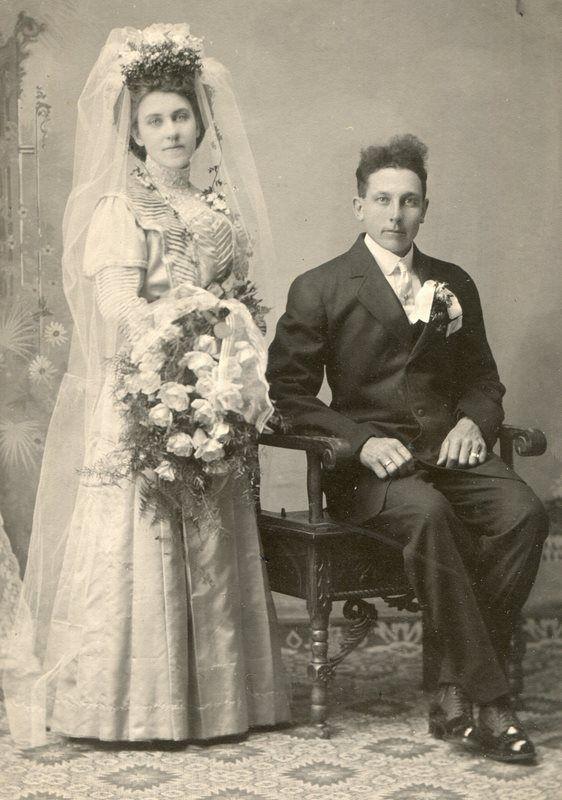 1880's newlyweds