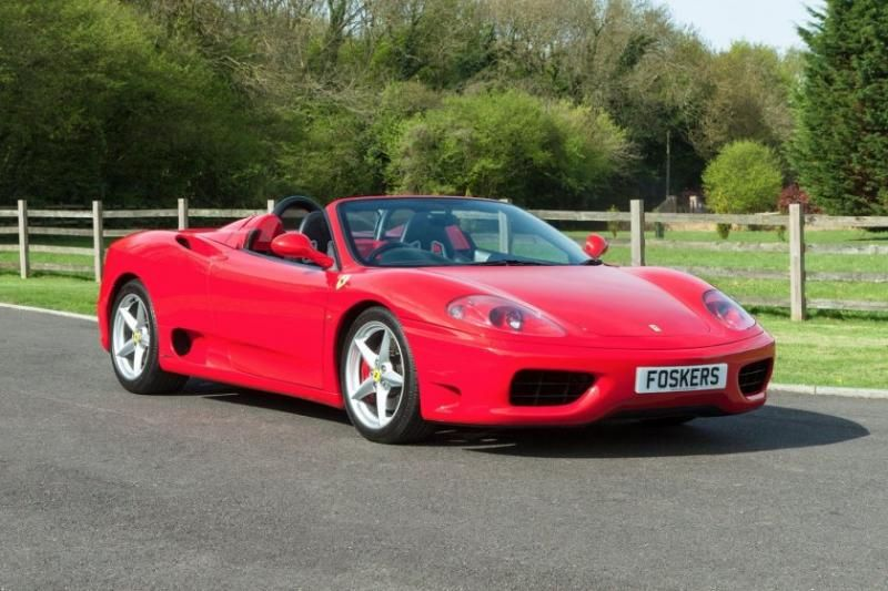 2001 Ferrari 360 Spider F1 Seq Manual Auto Single Clutch
